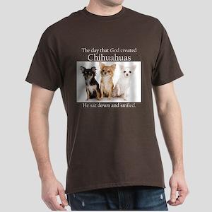 God & Chihuahuas Dark T-Shirt