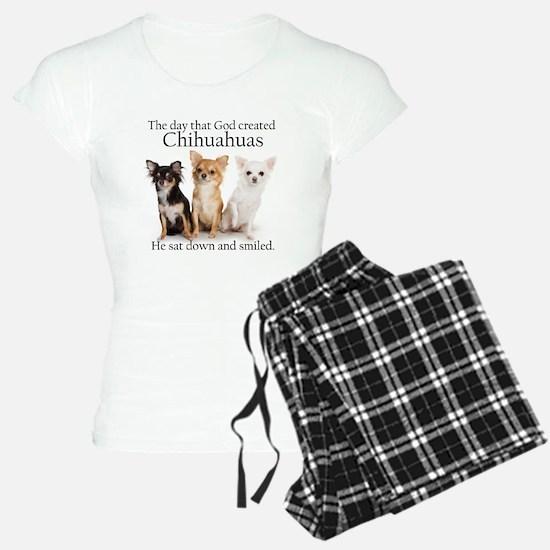 God & Chihuahuas Pajamas