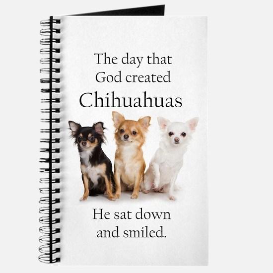 God & Chihuahuas Journal