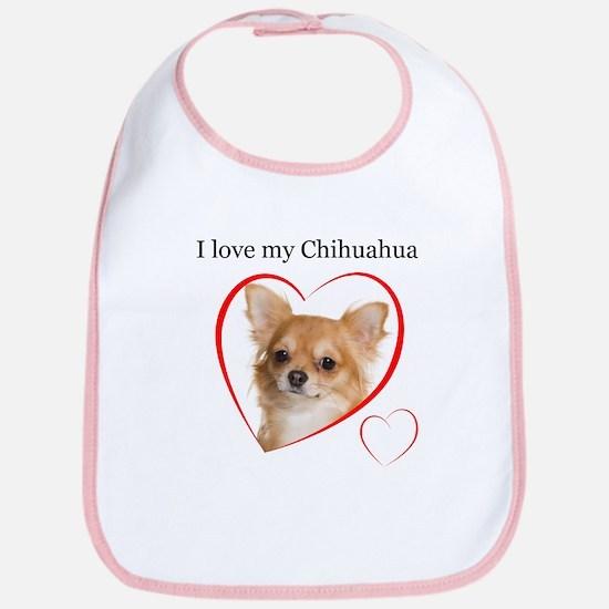 Love My Chihuahua Bib