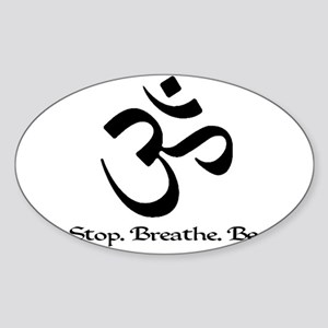 stopbreathebe copy Sticker