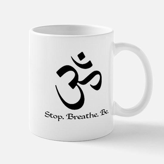 stopbreathebe copy Mugs