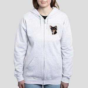 Chihuahua Mom Women's Zip Hoodie