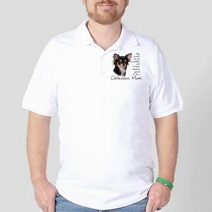 Chihuahua Mom Golf Shirt