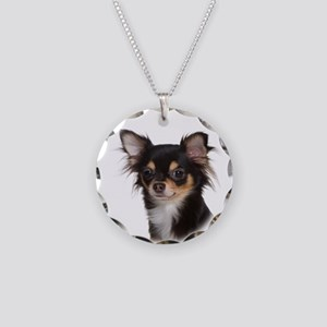 Chihuahua #1 Necklace Circle Charm