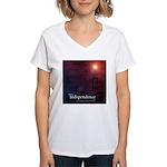 Energy Independence Women's V-Neck T-Shirt
