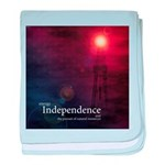 Energy Independence baby blanket