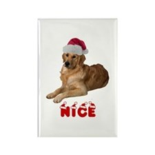 Nice Golden Retriever Rectangle Magnet