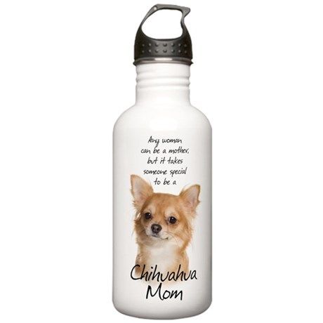 Chihuahua Mom Stainless Water Bottle 1.0L