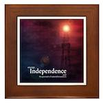 Energy Independence Framed Tile