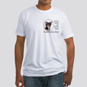 Chihuahua Dad Fitted T-Shirt
