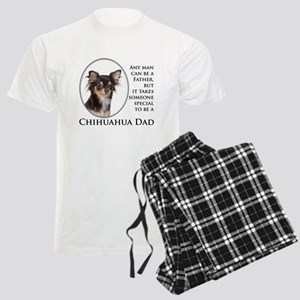 Chihuahua Dad Men's Light Pajamas