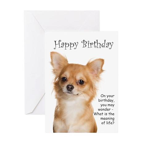 Chihuahua Birthday Card