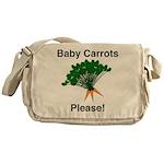 Baby Carrots Please! Messenger Bag