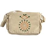 Diamond Ring Messenger Bag