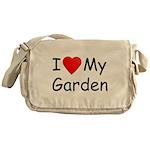 I (Heart) My Garden Messenger Bag