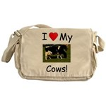 Love My Cows Messenger Bag