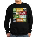 Global Warming Hoax Sweatshirt (dark)