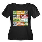 Global Warming Hoax Women's Plus Size Scoop Neck D