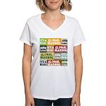 Global Warming Hoax Women's V-Neck T-Shirt
