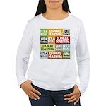 Global Warming Hoax Women's Long Sleeve T-Shirt
