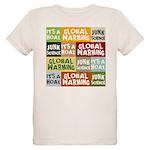 Global Warming Hoax Organic Kids T-Shirt
