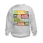 Global Warming Hoax Kids Sweatshirt