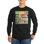 Global Warming Hoax Long Sleeve Dark T-Shirt