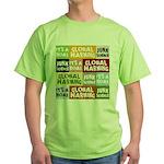 Global Warming Hoax Green T-Shirt