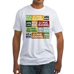 Global Warming Hoax Fitted T-Shirt