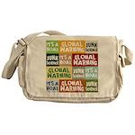 Global Warming Hoax Messenger Bag