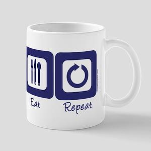 Sleep- Ski- Eat- Repeat Mug