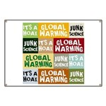 Global Warming Hoax Banner
