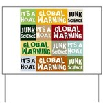 Global Warming Hoax Yard Sign