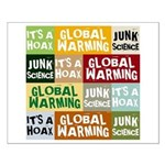 Global Warming Hoax Small Poster