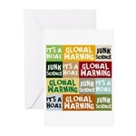 Global Warming Hoax Greeting Cards (Pk of 20)