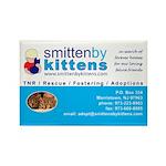 Smitten By Kittens Rectangle Magnet (10 pack)