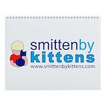 Smitten By Kittens Wall Calendar