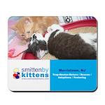 Smitten By Kittens Mousepad