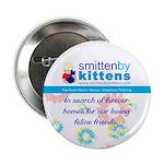 """Smitten By Kittens 2.25"""" Button (10 pack)"""
