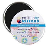 """Smitten By Kittens 2.25"""" Magnet (10 pack)"""