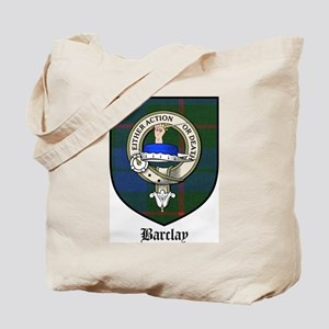 Barclay Clan Crest Tartan Tote Bag