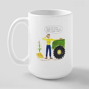 Planting Seeds Large Mug