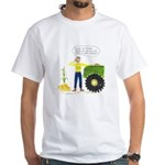 Planting Seeds White T-Shirt