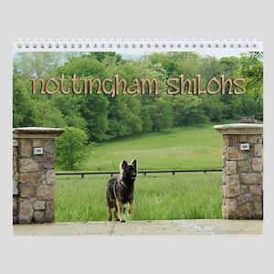 Nottingham Wall Calendar :2013