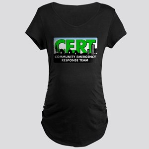 Cert Dark Maternity T-Shirt