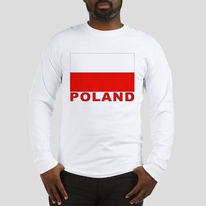 Poland Flag Long Sleeve T-Shirt