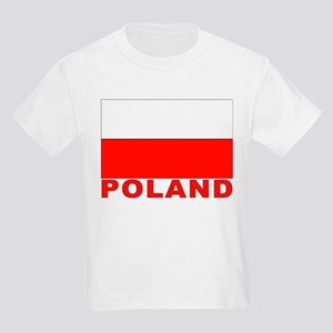 Poland Flag Kids T-Shirt