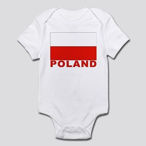 Poland Flag Infant Creeper