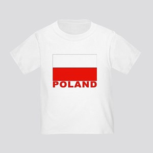 Poland Flag Toddler T-Shirt